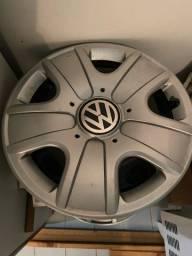Rodas de Ferro e Calotas Original VW ( Zero )