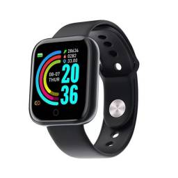 Relógio Smartwatch D20 Inteligente Fit Pro Android IOS