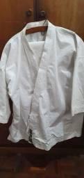 Kimono branco Tanari de luxo tam A3