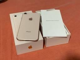 Título do anúncio: iPhone 8 64gb rose gold