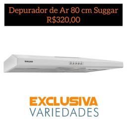 Depurador de Ar Slim 80Cm Branco Suggar + Entrega Grátis