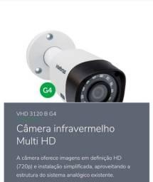 KIT COM 5 CÂMERAS VHD 3120 B G4 - Câmera infravermelho Multi HD