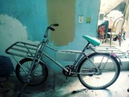 Vendo bicicleta cargueira e um carrinho prancha