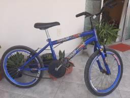 Bicicleta infantil liga da Justiça