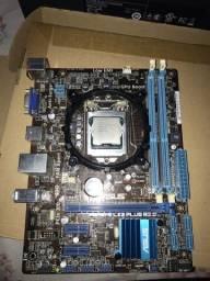 Kit xeon E3-1230 V2 + Placa mãe + Cooler + Memória  Ram