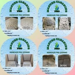 Limpeza colchão, cadeiras e sofá