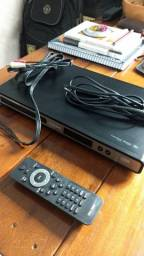 DVD Player Philips DVP3520 c/DIVX (Controle + Cabos)