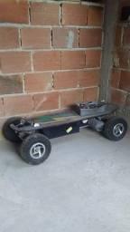 Skate elétrico usado