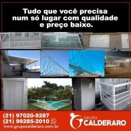 Grupo Calderaro - Serralheria/Vidraçaria/Segurança Eletrônica.