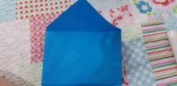 Envelope 180g azul