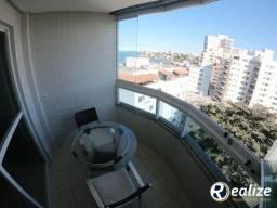 AP00287 Apartamento de 02 quartos a venda Mobiliado com vista para o mar Praia do Morro