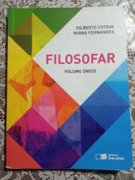 livro FILOSOFAR volume único