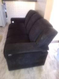 Vendo rack  sofá e painel de parede