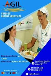 Curso de Copeira Hospitalar R$ 199,00