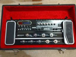 Pedaleira Zoom G9 II. Unico dono