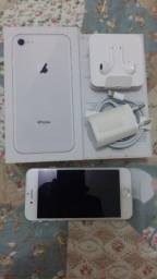 IPhone 8 Prata 256GB - Modelo A1905