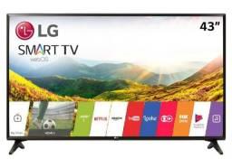 "Smart TV led 43"" Full HD LG 43LJ5550 com Painel IPS, Wi-Fi, WebOS 3.5, Time Machine Ready,"