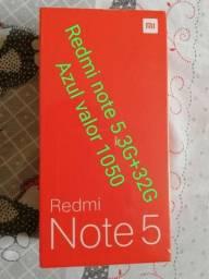 Xiaomi Redmi Note 5 3G+32G azul lacrado