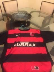 Camisa do Flamengo Autografada para colecionador