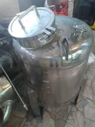 Tanque em Aço Inox 110 Litros