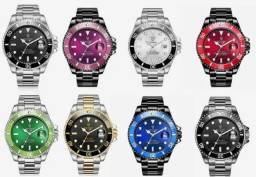 Relógio Tevise mecânico - diversas cores