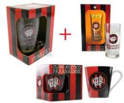 Kit Presente Torcedor Atletico PR 3x1 Canecas