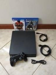 PS4 1Tb + 17 Jogos (Parcelo até 12x)
