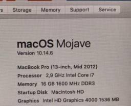 MacBook PRO I7 2.9