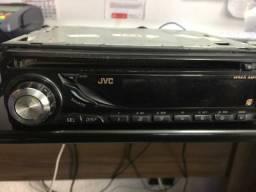 Cd rádio jvc usado antigo garantia e grátis instalação