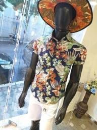 Camisa Floral masculina