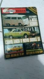 Coleção de revista quatro rodas antiga