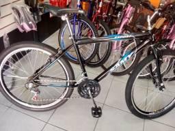 Bicicleta aro 26 Samy nova, com nota fistal e garantia em até 6 vezes sem juros no cartão