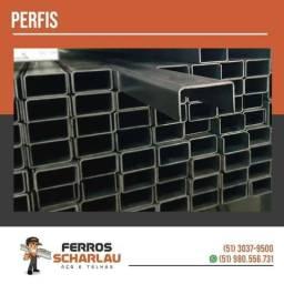Perfil de Ferro/Aço 25x50x2MM udc para estruturas metálicas