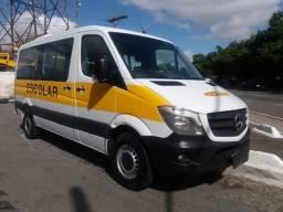 Mercedes-benz Sprinter Van 2.2 Cdi 415 Branca 2019 Escolar