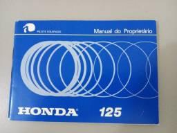 Manual do Proprietário - Honda Turuna 125
