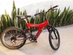 Bicicleta XR20 Infantil com molas, aro 20, 6 marchas - Track e Bikes