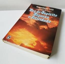 Paz de espírito Riqueza e Felicidade de Napoleon Hill mais um livro de brinde