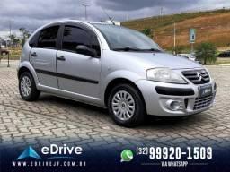 Citroën C3 GLX 1.4 Flex 8V 5p - Com Bancos em Couro - Completo - Melhor Preço - 2009/2010