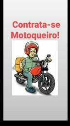 Contrato Motoqueiro com moto que conheça Goiânia e aparecida
