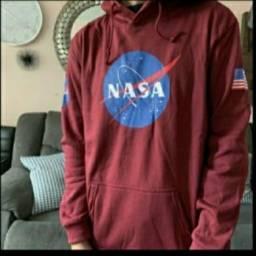 Casaco Moleton NASA com capuz