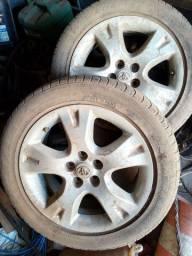 Vendo 2 rodas Toyota Corolla xei 2010 aro original aro 16