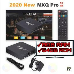 TV Box MXq Pro 4k 8GB RAM 64 GB ROM wi-fi 5G