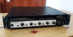 """Set Cabeçote Baixo Meteoro MW250 com caixas 1x15"""" e 4x10"""" JBL Original"""