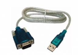 Cabo Conversor Usb 2.0 Serial Rs232 Db9 9 Pinos Adaptador