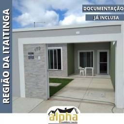 Casa Plana Loteamento Mãe Rainha - Itaitinga