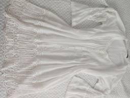 Vestido branco social