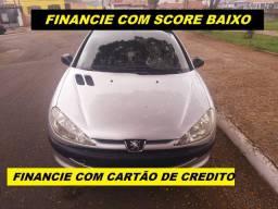 Financio com score baixo peugeot 206
