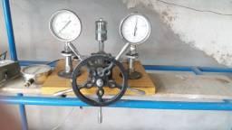 Equipamento para calibrar Manômetro