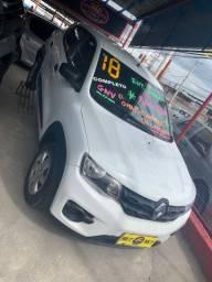 Renault Kwid 2018 + GNV (Único Dono, entrada + 48x 593,00)