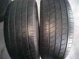 02 pneus 265/60-18 com 70% de vida útil